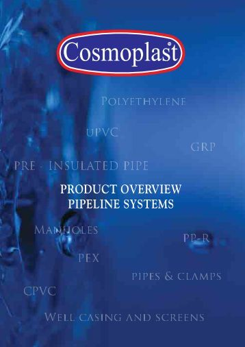pipeline systems The transportation of corrosive or abrasive materials in the oil, gas, mining, industrial and municipal markets can lead to internal corrosion and abrasion in pipelines.