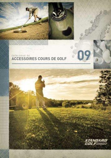 ACCESSOIRES COURS DE GOLF - Standard Golf Company