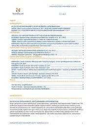 Kansainvälisen toiminnan tiedote toukokuu 2013 - Nuorisoseurat