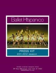Electronic Press Kit 2011-2012 - Ballet Hispanico
