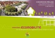 Une nouvelle dynamique pour l'agglomération par les ... - Le Tram