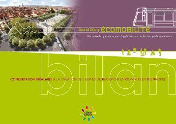 bilan de concertation préalable - Le Tram