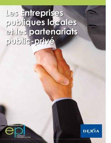 Les Entreprises publiques locales et les partenariats public-privé