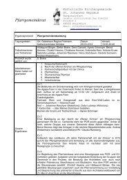 PGR-Protokoll_09. 03. 2012 (Klausur) - Start - Katholisch in Steinfurt