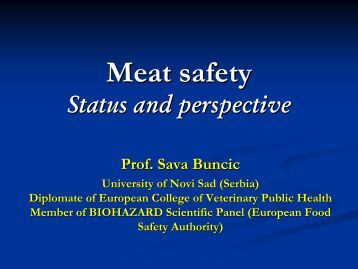 Meat Safety - Young-Train