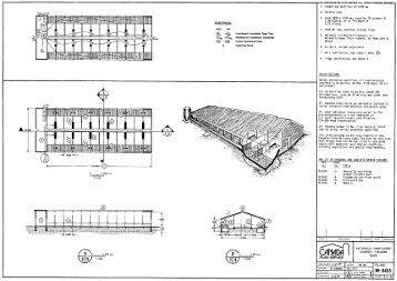 Naturally Ventilated Grower-Finisher Barn Plan (Metric)