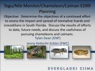 Overview of Everglades Invasive Species - Everglades Cooperative ...