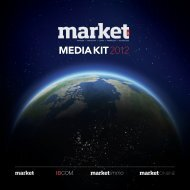 MEDIA KIT 2012 - Market