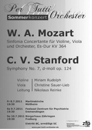 Variations & Finale (Andante, Allegro giusto) - per tutti Orchester