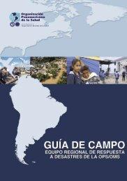 OPS/OMS - Centro de Conocimiento en Salud Pública y Desastres