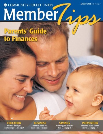 Parents' Guide to Finances