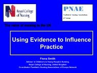 Using Evidence to Influence Practice - Asia Pacific Paediatric ...