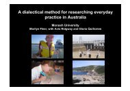 A dialectical method for researching everyday practice in Australia