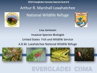 Loxahatchee National Wildlife Refuge - Everglades Cooperative ...