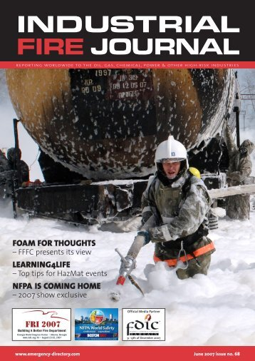IFJ June cover-AM.qxd - The Fire Fighting Foam Coalition