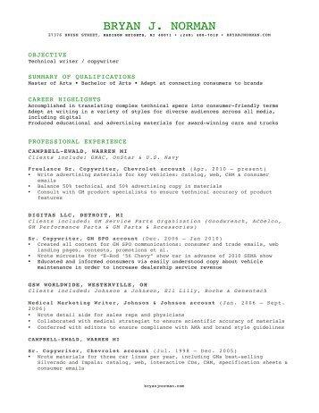 downloadable PDF - Bryan Norman