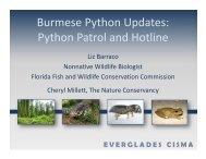 Burmese Python Updates: Python Patrol and Hotline