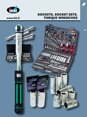 IKH, Tools 2007, 4. Sockets, socket sets, torque wrenches