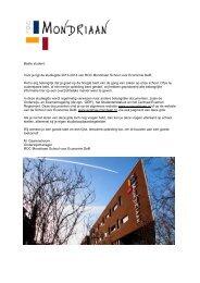 Beste student, Voor je ligt de studiegids 2013-2014 van ROC ...