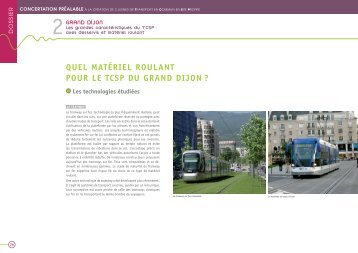 Concertation - extraits - Technologies Étudiées - Le Tram