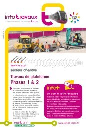 Phases 1 & 2 - Le Tram
