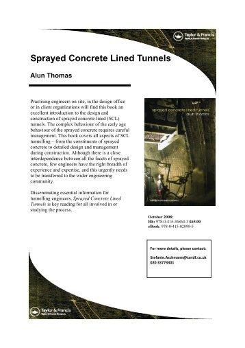 Download a pdf order form - TunnelTalk.com