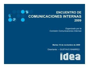 COMUNICACIONES INTERNAS - IDEA