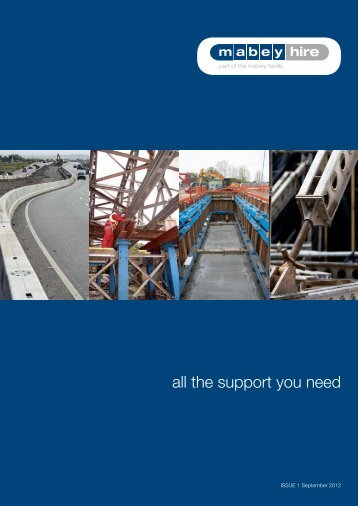 all the support you need - Mabey Hire