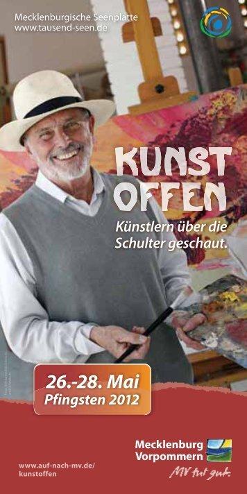kunst: offen 2012 - Mecklenburgische Seenplatte