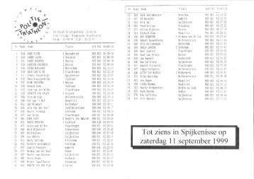 1998 - triathlon-uitslagen