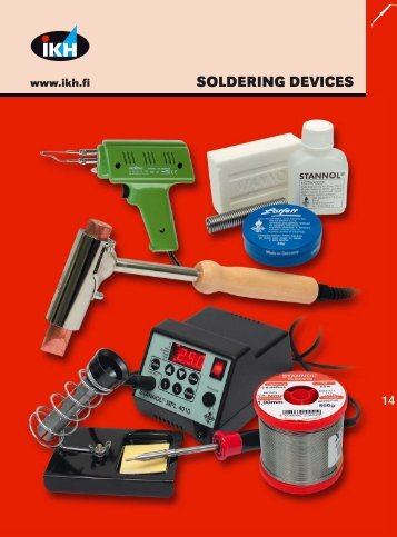 IKH Tools 2007, 14. Soldering devices