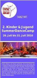 2. Kinder & Jugend SummerDanceCamp - TanzKreation Erfurt