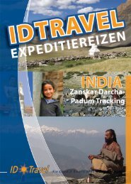 Noord India: Zanskar Darcha Padum Tracking - ID Travel
