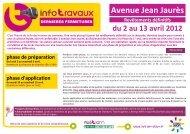 Avenue Jean Jaurès - Le Tram