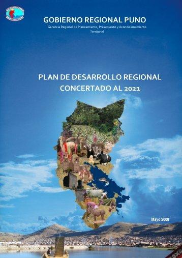 Plan de Desarrollo Regional Concertado al 2021 - Gobierno ...