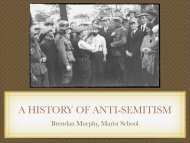 A HISTORY OF ANTI-SEMITISM