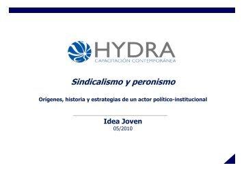 Sindicalismo y peronismo - IDEA