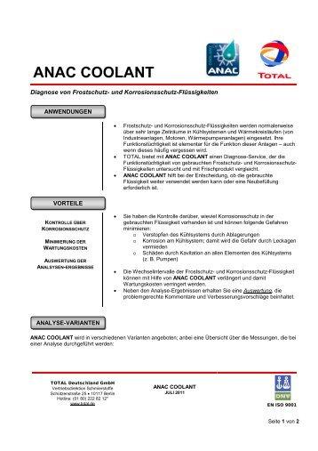 ANAC COOLANT - Total Deutschland GmbH
