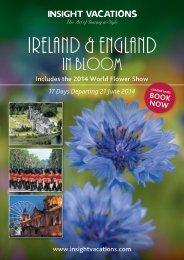 Ireland & England in bloom - Travelticket