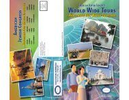 American Jewish Congress - Isram World of Travel