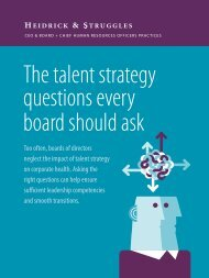 The talent strategy questions every board should ask