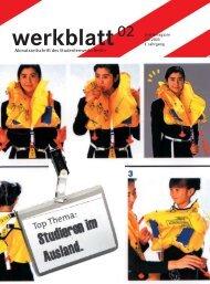 Werkblatt - Studentenwerk Berlin