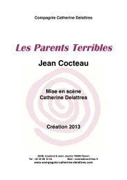 Dossier PDF (170Ko) : Les Parents Terribles de Jean Cocteau - L'Eclat