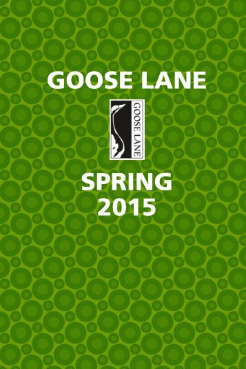 spring 2013 - Goose Lane Editions