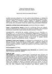 acuerdo 001-2009 reserva información de reuniones de gabinete