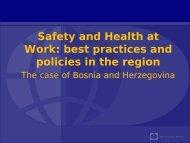 Best Practices and Policies in the Region (Boriana Gocheva)