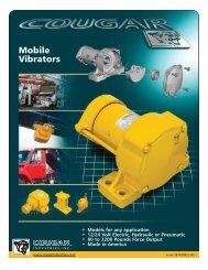 Cougar Vibration Truck Vibrator Specifications