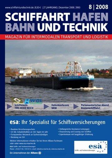 8 | 2008 - Schiffahrt und Technik