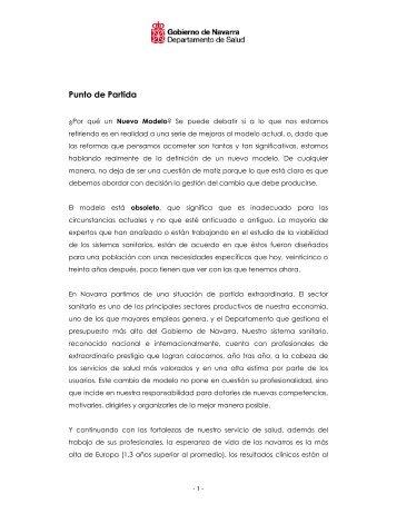 Punto de Partida - Colegio oficial de Medicos de Navarra