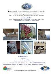 Renforcement parasismique des constructions en béton - Planete TP